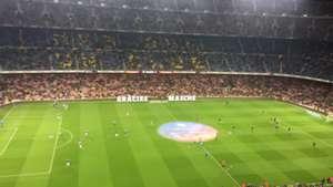 Despedida Camp Nou a Mascherano