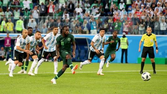Victor Moses Nigeria Argentina 26062018