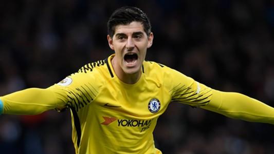 Thibaut Courtois Chelsea 2017-18
