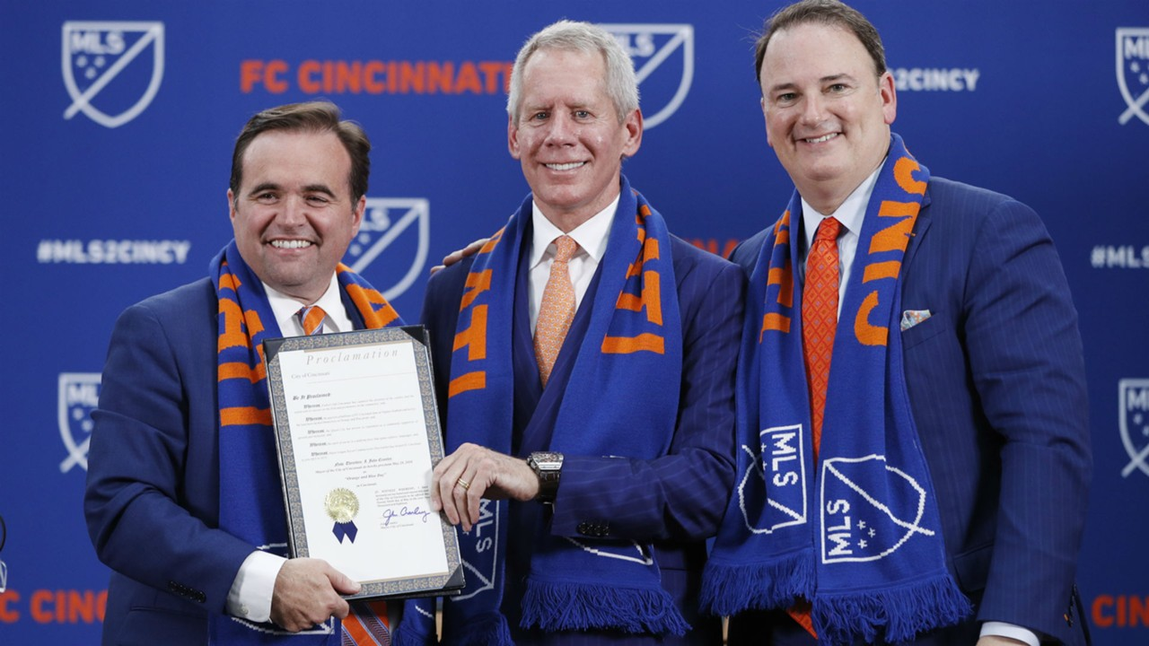 FC Cincinnati's MLS expansion draft set for December 11