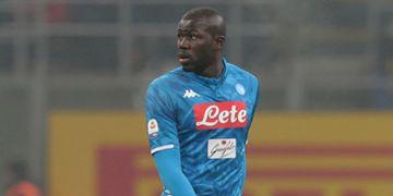 Koulibaly sent off Inter Napoli