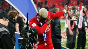 Paul Pogba Manchester United League Cup