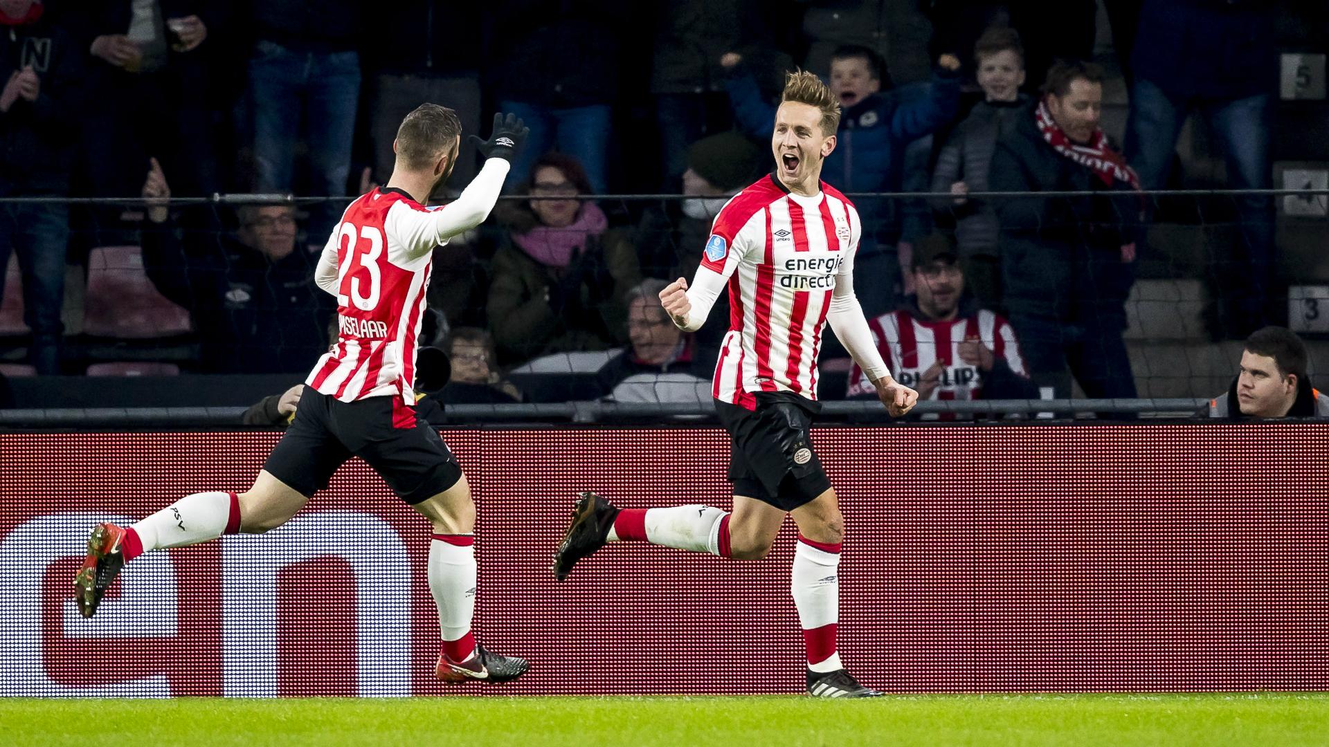 Luuk de Jong, PSV, Eredivisie 12162017