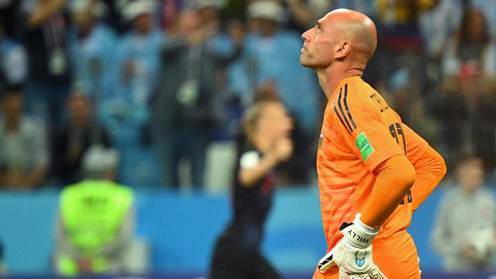Willy Caballero sobre la derrota argentina: