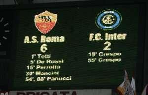 roma inter 6-2