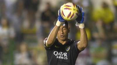 Esteban Andrada Defensa y Justicia Boca Superliga Fecha 20
