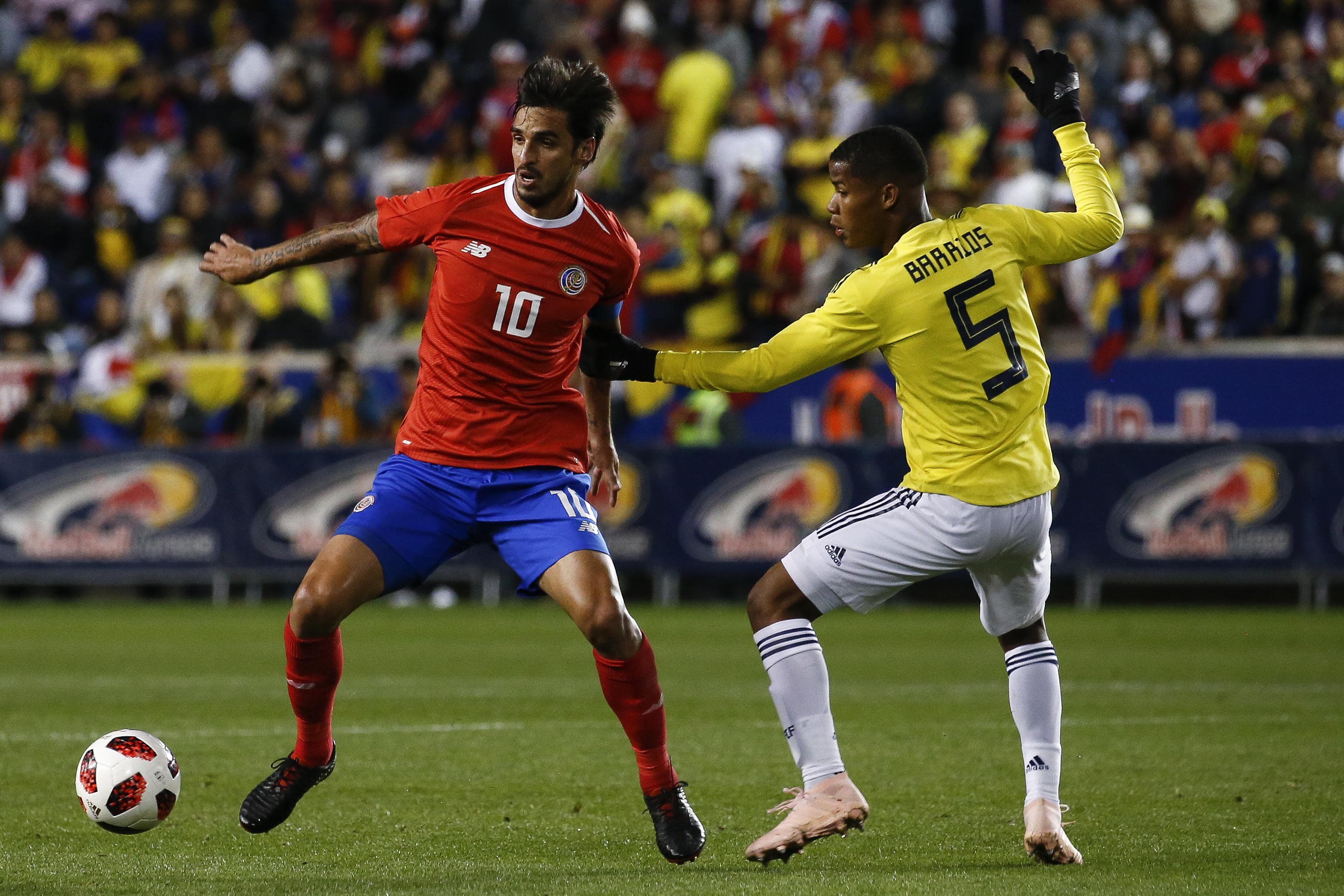 Wilmar Barrios Colombia - Costa Rica 2018
