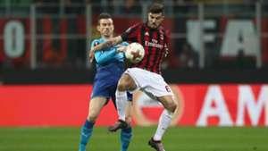 Cutrone Milan Arsenal