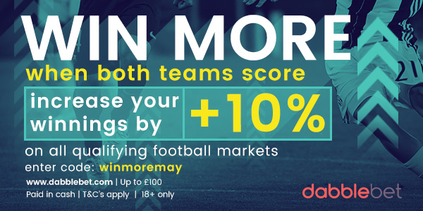 BTTS YOU WIN MORE MAY