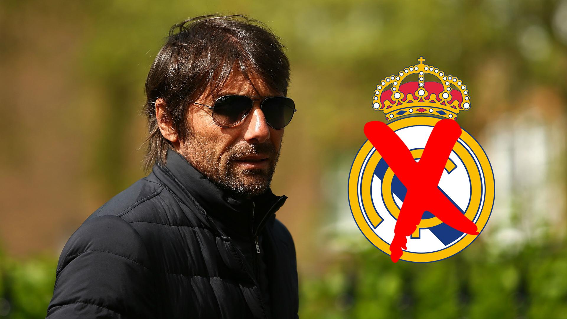 Conte no Real Madrid