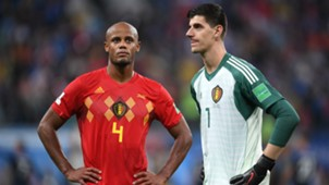 France Belgium World Cup 2018 Vincent Kompany Thibaut Courtois