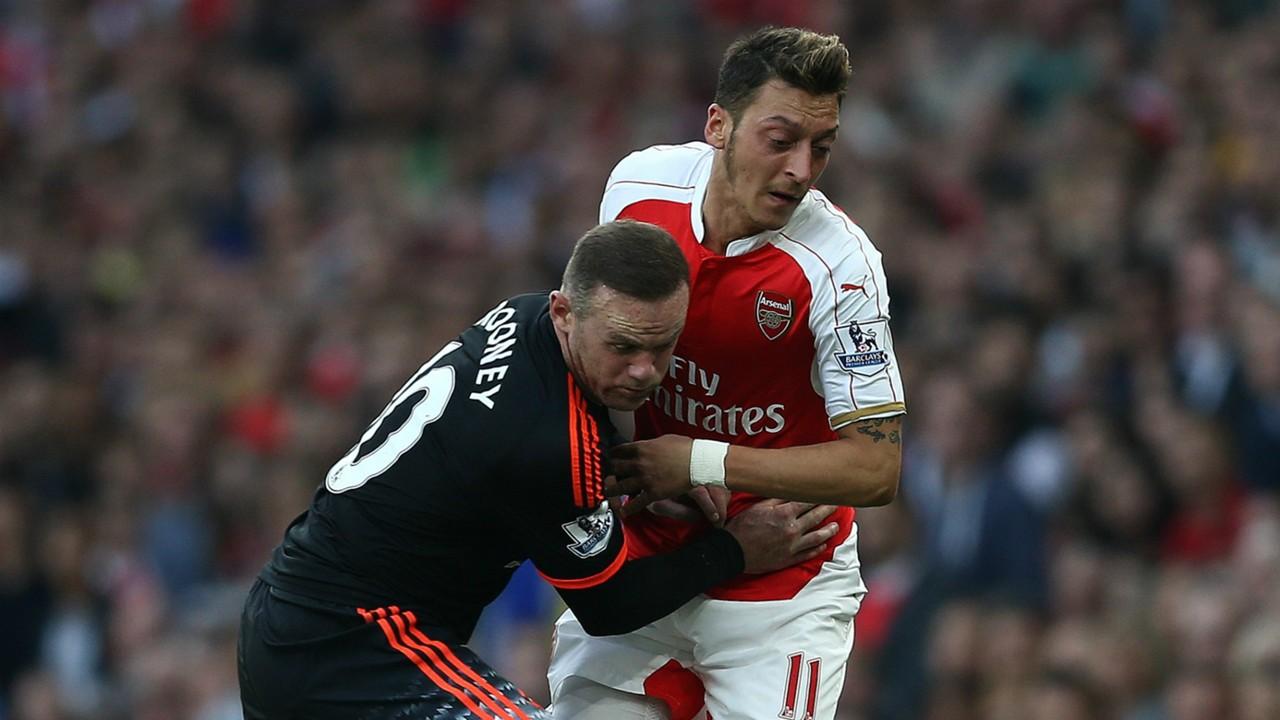 Wayne Rooney; Mesut Ozil