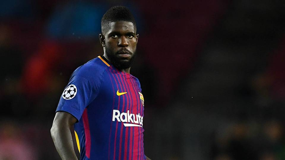 Manchester rivals United and City warned off £55m Umtiti move by Barcelona star Pique