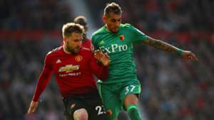Luke Shaw Manchester United Watford 300319