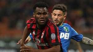 AC Milan midfielder Franck Kessie suspended for Fiorentina's game