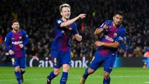 Rakitic Suarez Barcelona Celta Copa del Rey