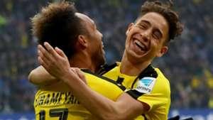 Aubameyang Emre Mor Dortmund
