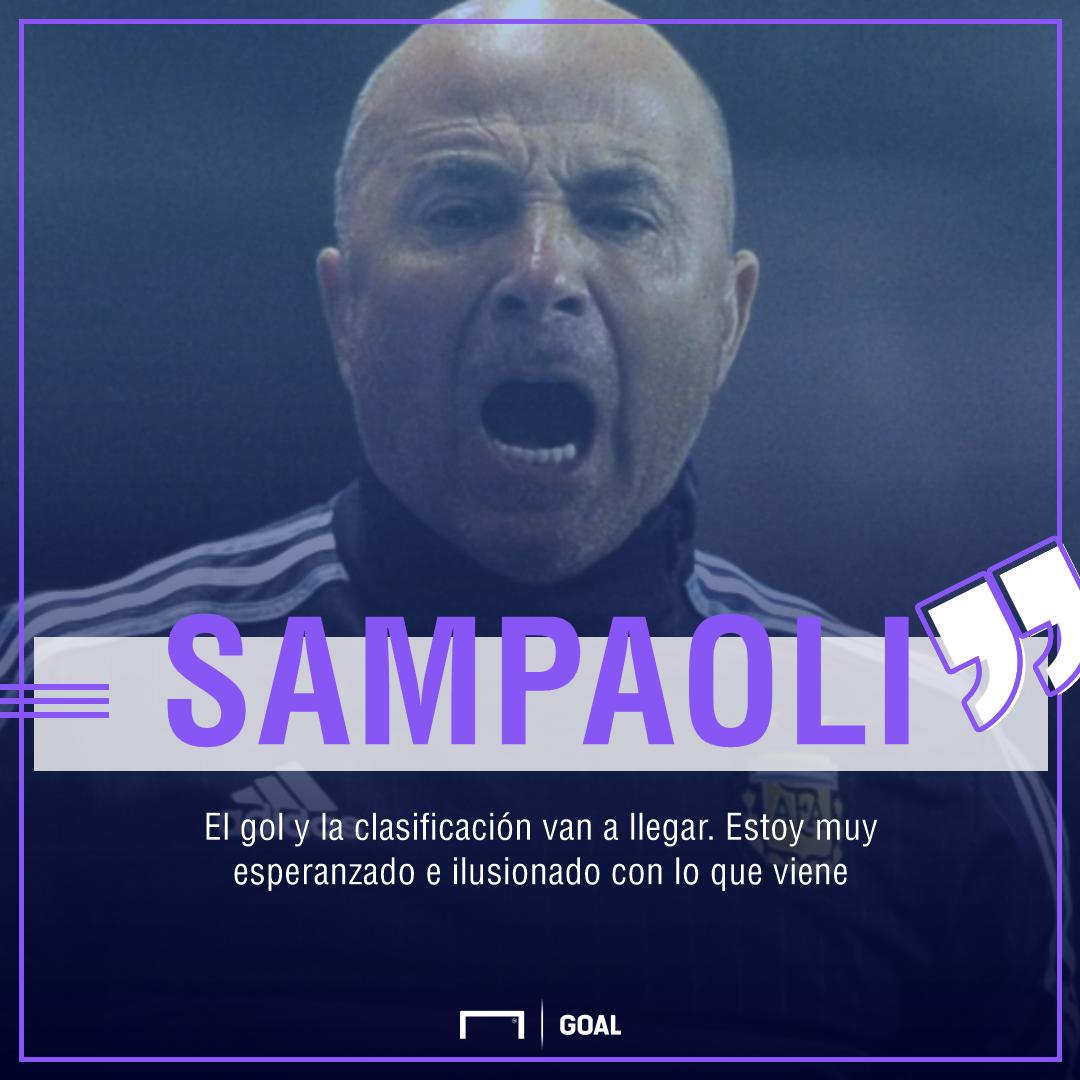 Sampaoli Argentina Eliminatorias