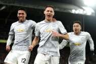 Nemanja Matic Chris Smalling Jesse Lingard Manchester United Crystal Palace Premier League