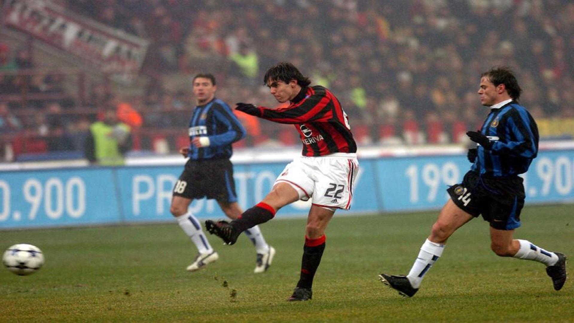 Kaka Inter Milan Derby