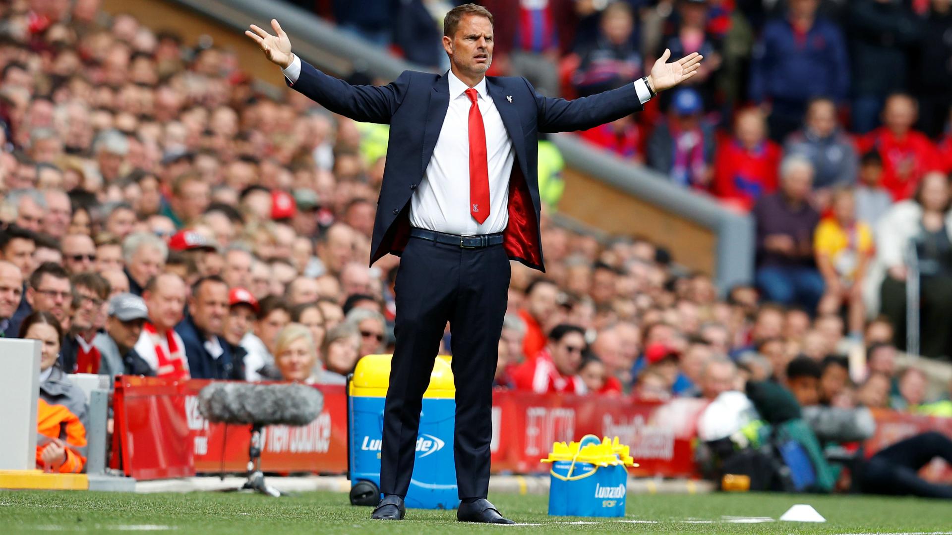 Frank de Boer Crystal Palace Premier League 08192017