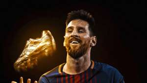 Leo Messi Golden Shoe