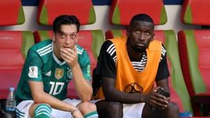 Mesut Ozil Antonio Rudiger Germany