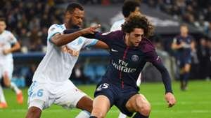 Adrien Rabiot Rolando Marseille PSG Ligue 1 22102017
