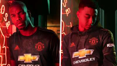 Paul Pogba Jesse Lingard Manchester United third kit 2019-20