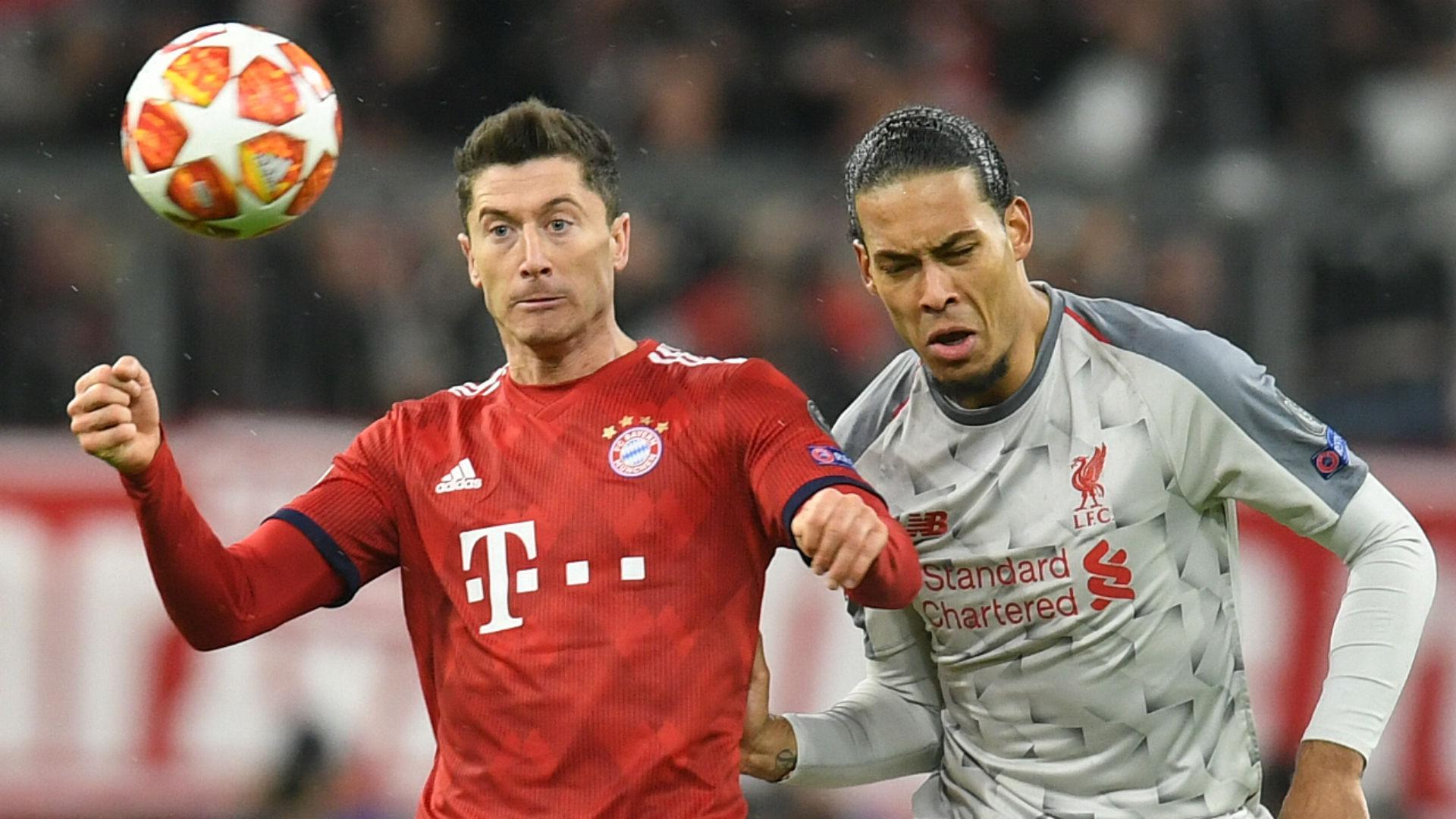 Robert Lewandowski Virgil van Dijk FC Bayern München Liverpool 13032019