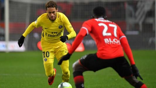 Neymar Rennes PSG