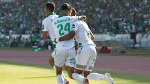 Mahmoud Benhalib and Raja Casablanca celebrate