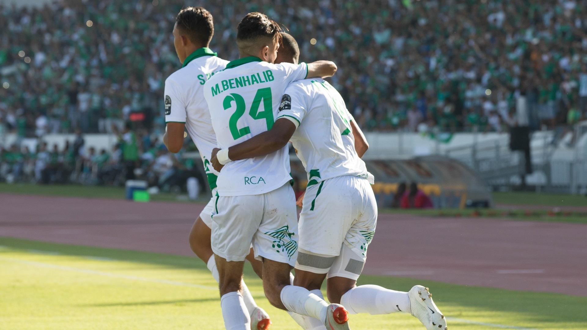 Mahmoud Benhalib and Raja Casablanca celebrate
