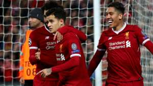 Philippe Coutinho Robert Firmino Mohamed Salah Liverpool