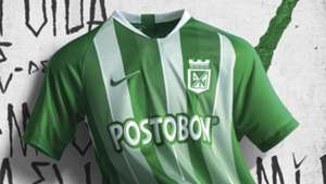 Nueva camiseta Atlético Nacional 2019