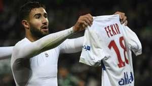 Nabil Fekir Lyon 2017-18