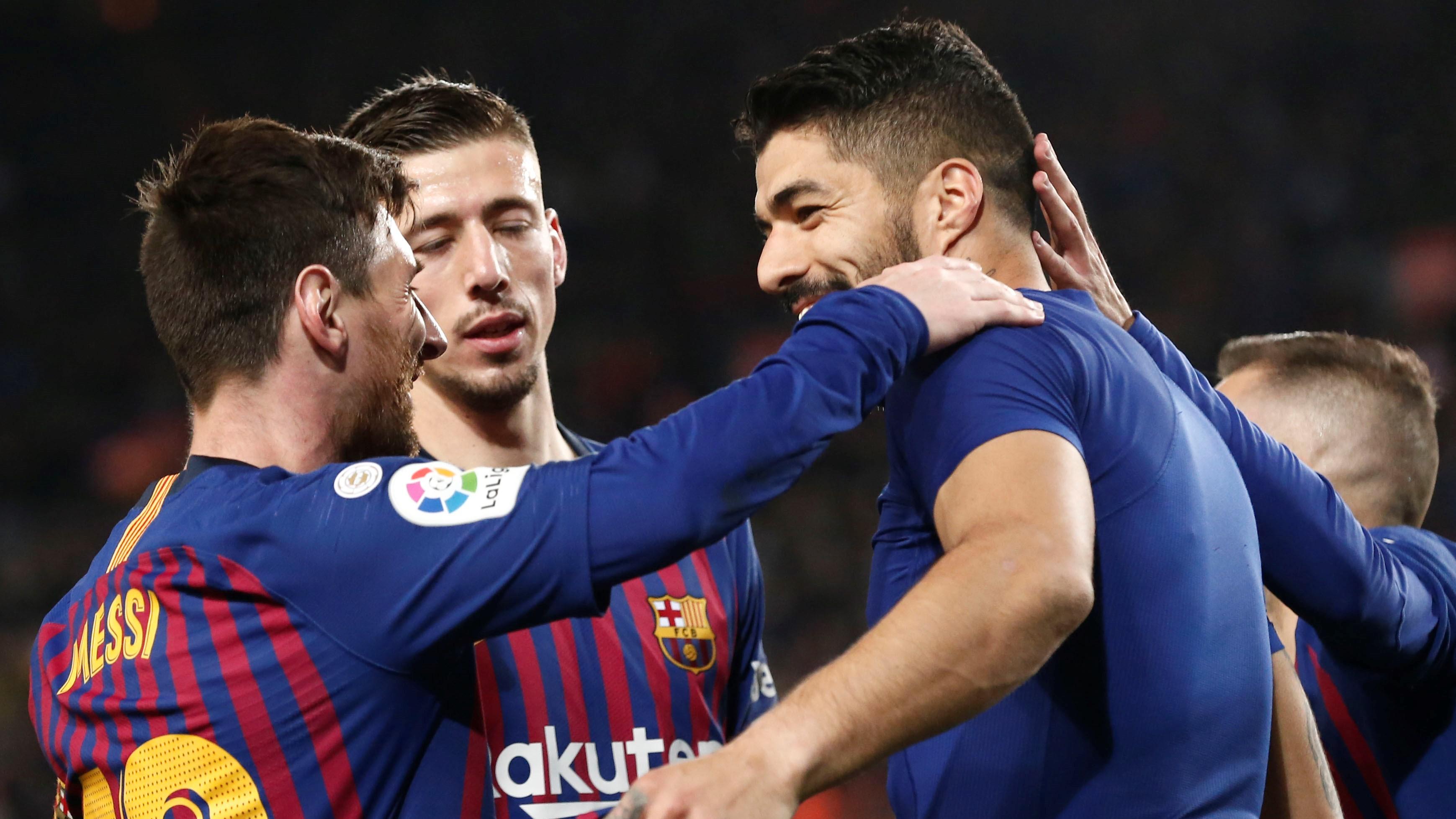 Lionel Messi Luis Suarez Barcelona Atlético de Madrid LaLiga 06042019