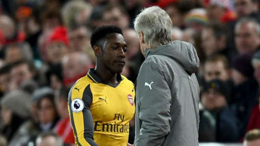 Danny Welbeck Arsene Wenger Arsenal