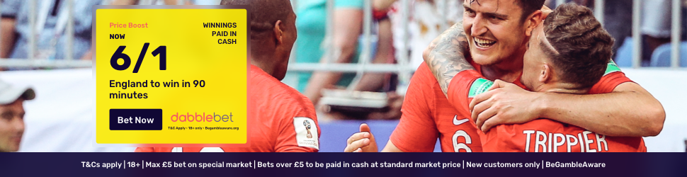 England Croatia dabblebet offer footer