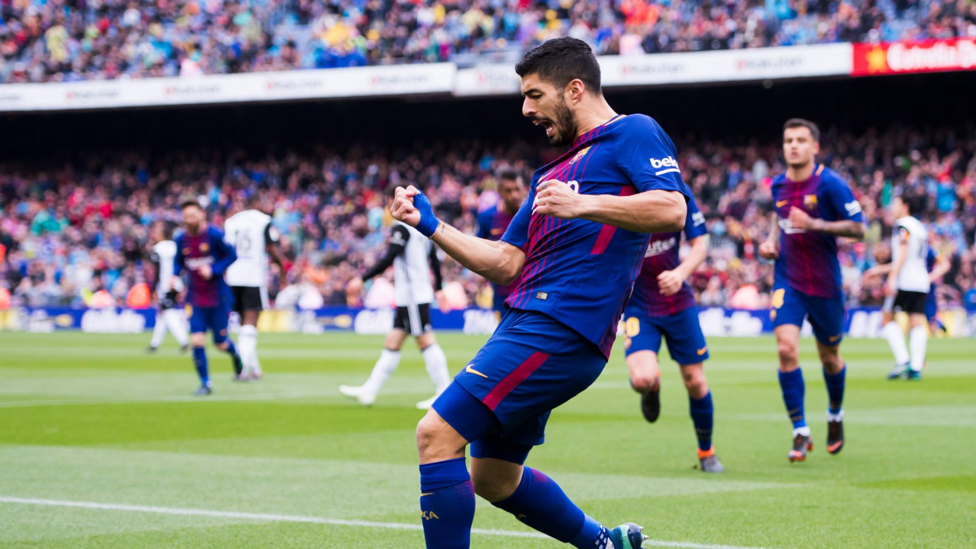 Luis Suarez Barcelona Valencia LaLiga