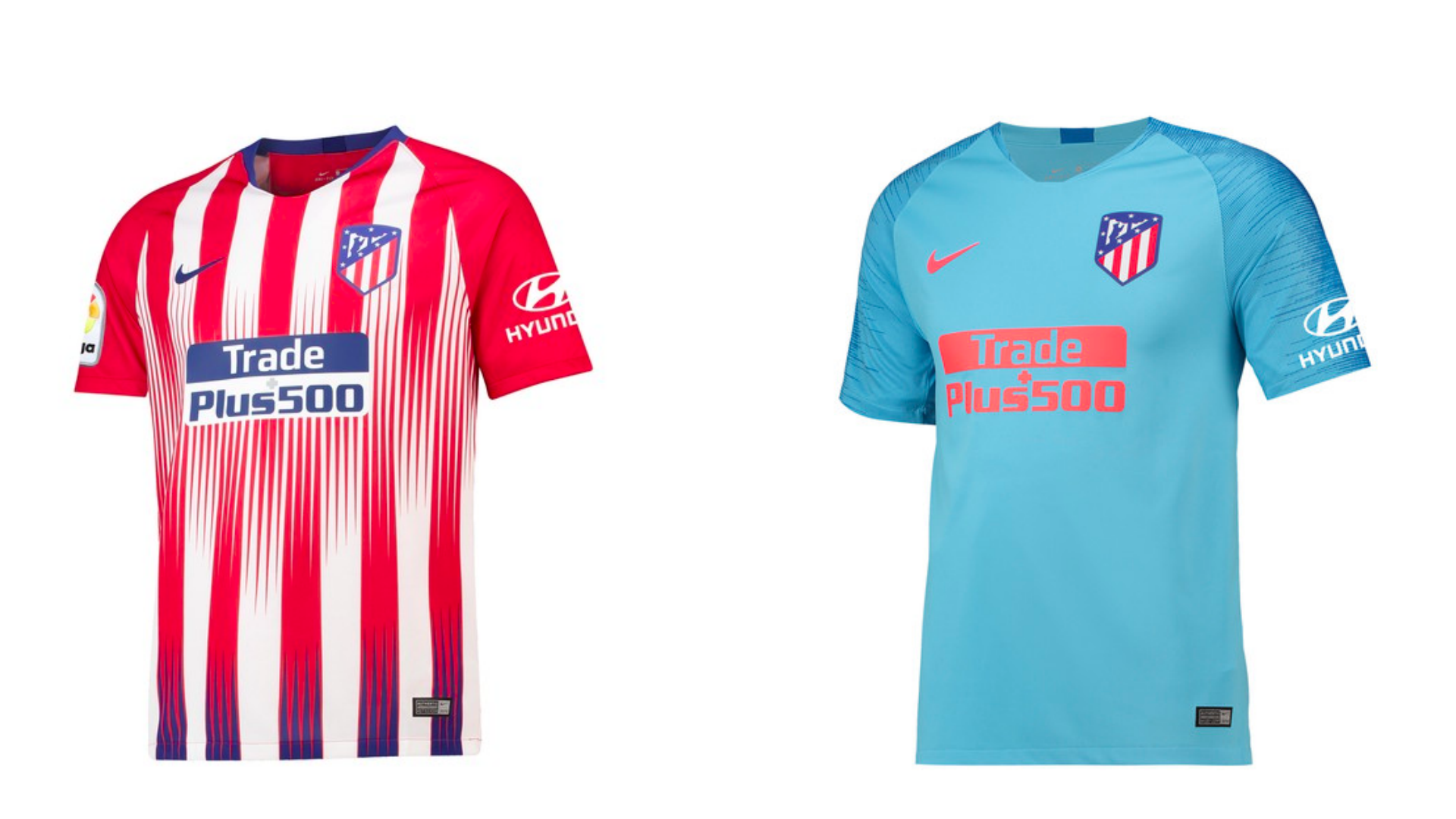 Atletico Madrid shirts 2018/19