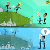 Cartoon Tuchel to PSG
