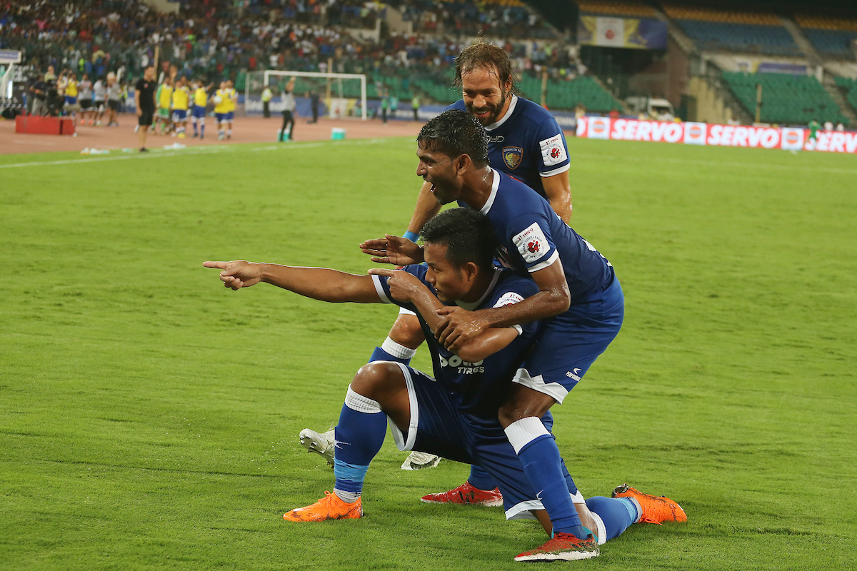 Chennaiyin FC beat FC Goa 3-0, through to ISL Final