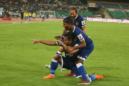 Chennaiyin FC Goa Jeje Lalpekhlua