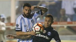 Everton Jose San Roman Atletico Tucuman Gremio Libertadores 18092018