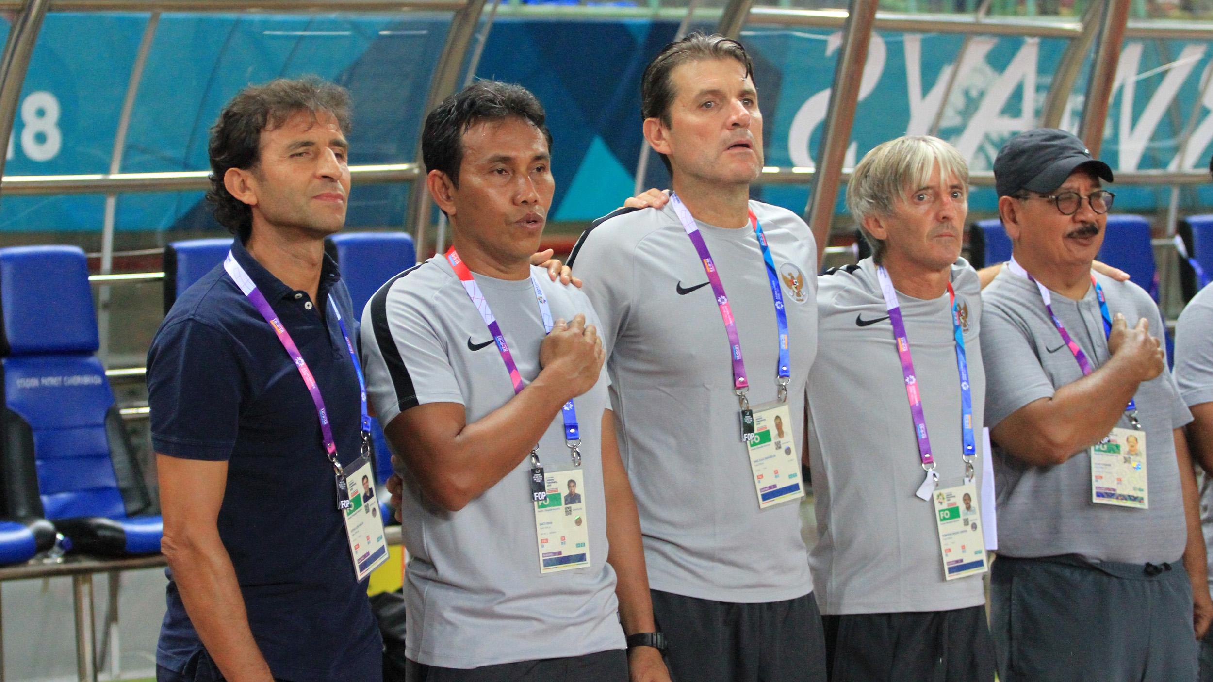 Luis Milla & Staf Pelatih Indonesia