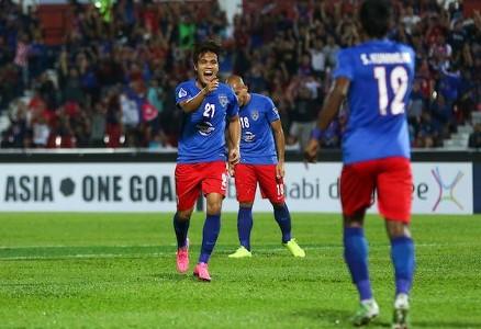 Nazmi Faiz, Johor Darul Ta'zim, AFC Cup, 19/04/2017