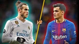 Bale vs Coutinho