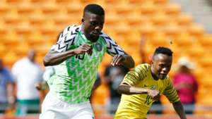 John Ogu, Thulani Serero - South Africa vs. Nigeria