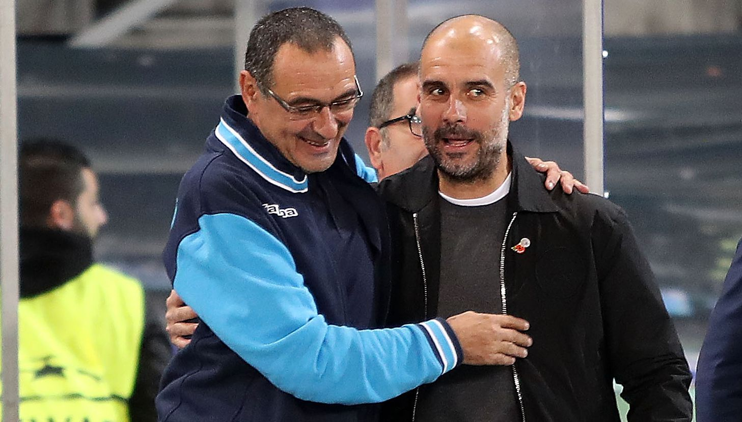 Sarri Guardiola Getty Images
